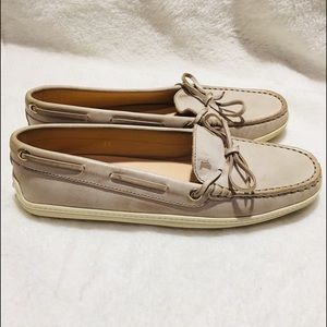 TODDS Leather Laccetto Gommino Driving Loafer   7